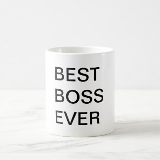 O melhor chefe nunca canecas