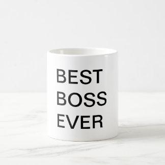 O melhor chefe nunca caneca de café