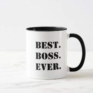O melhor chefe sempre customizável caneca