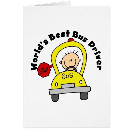 O melhor condutor de autocarro cartoes