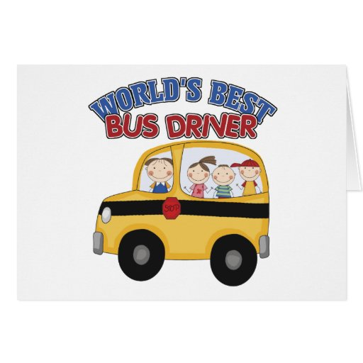 O melhor condutor de autocarro do mundo cartao