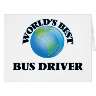 O melhor condutor de autocarro do mundo cartões
