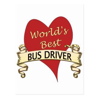 O melhor condutor de autocarro do mundo cartoes postais