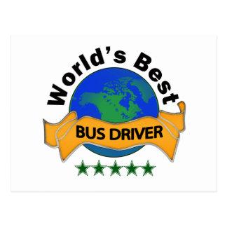 O melhor condutor de autocarro do mundo cartão postal