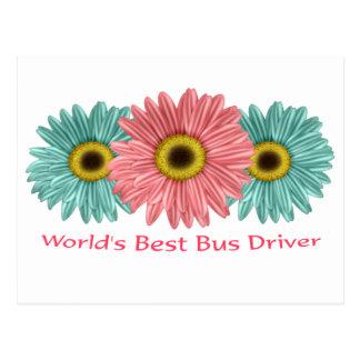 O melhor condutor de autocarro do mundo cartões postais