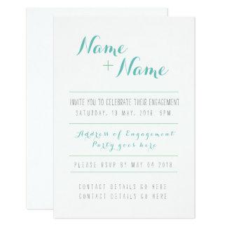 O melhor convite do noivado