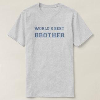 O melhor irmão dos mundos camiseta