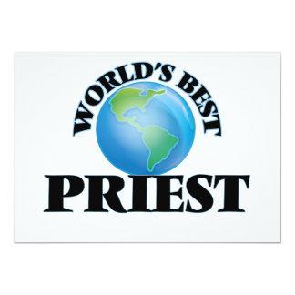 O melhor padre do mundo convite personalizados
