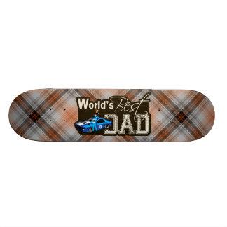 O melhor pai do mundo; Competência Shape De Skate 18,4cm