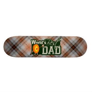 O melhor pai do mundo; Tiro ao arco Shape De Skate 20,6cm