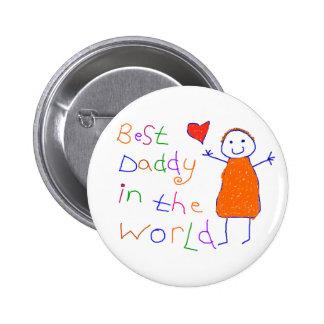 O melhor pai no mundo pins
