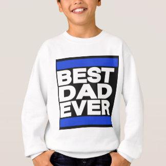 O melhor pai sempre azul camiseta