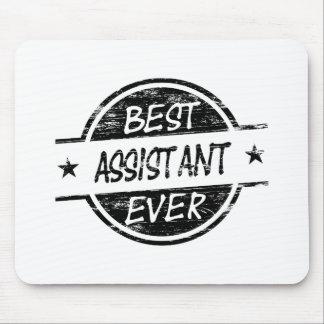 O melhor preto do assistente nunca mouse pad