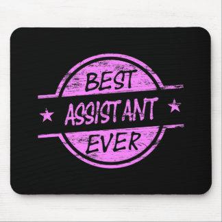 O melhor rosa do assistente nunca mousepad