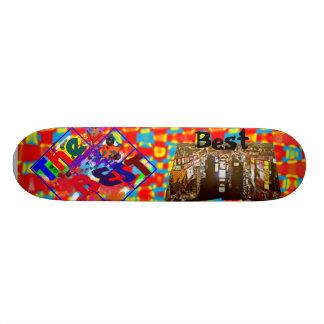 O melhor shape de skate 18,7cm