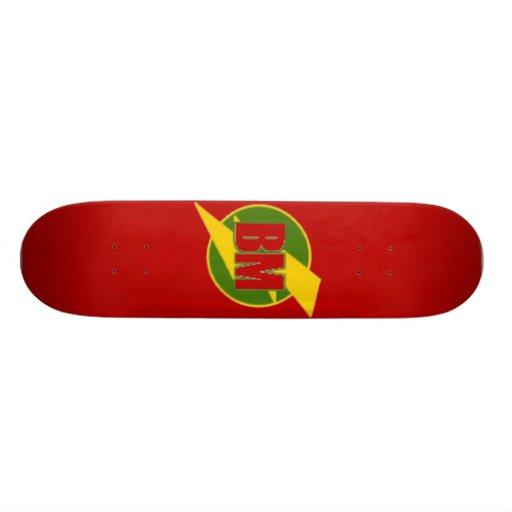 O melhor skate do homem (BM) -- Vermelho