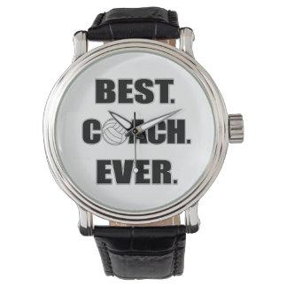 O melhor treinador do voleibol nunca relogios