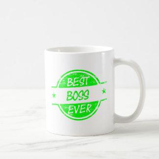 O melhor verde do chefe nunca canecas