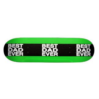 O melhor verde do Lg do pai nunca Skate Personalizado
