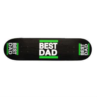 O melhor verde do pai skateboard