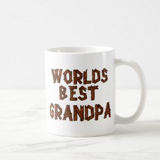 O melhor vovô do mundo caneca de café