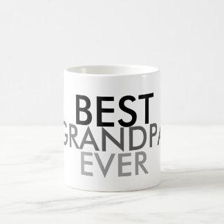 O melhor vovô nunca caneca de café