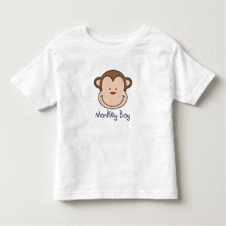 O menino T do macaco - adicione um nome! Camiseta