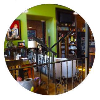 O mercado Kansas City da cidade do restaurante da Relógios Para Pendurar