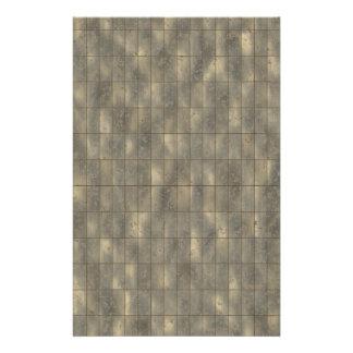 O metal rústico almofada o fundo da textura papelaria
