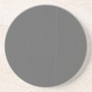O modelo cinzento do vazio DIY da planície Porta-copos De Arenito