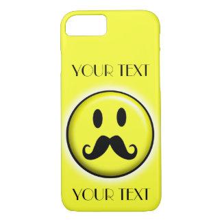 O MODELO DO SMILEY FACE PERSONALIZA O BESTSELLER CAPA iPhone 8/7
