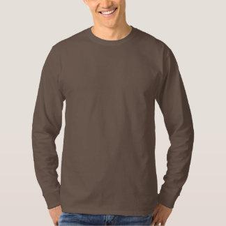 O modelo longo do Tshirt DIY da luva adiciona a