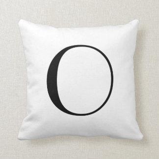 O monograma descansa O Travesseiros De Decoração