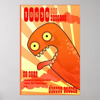 O monstro de Tokyo Poster