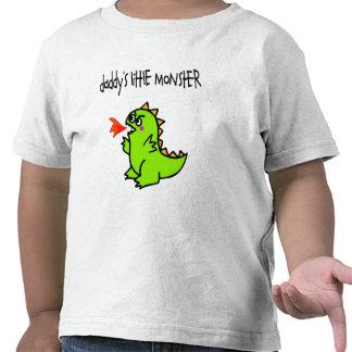 O monstro pequeno do pai t-shirt