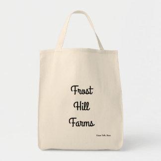 O monte de Frost cultiva a sacola do mercado do Bolsa Tote
