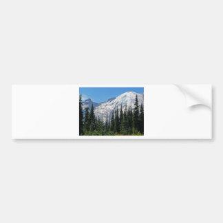 O Monte Rainier 4 Adesivo Para Carro