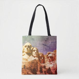 O Monte Rushmore 1974 Bolsas Tote