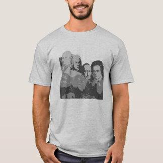O Monte Rushmore do t-shirt dos compositores