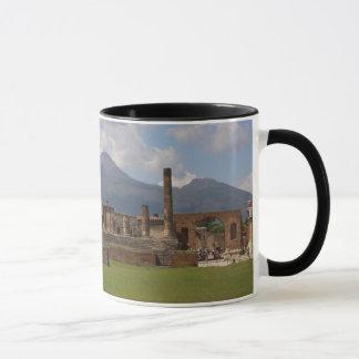 O Monte Vesúvio, Pompeii Caneca