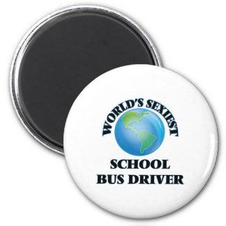 """O motorista de auto escolar o mais """"sexy"""" do mundo imãs"""