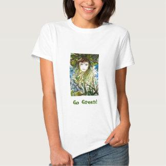 O MUNDO de RIMAS, vai verde! Camiseta