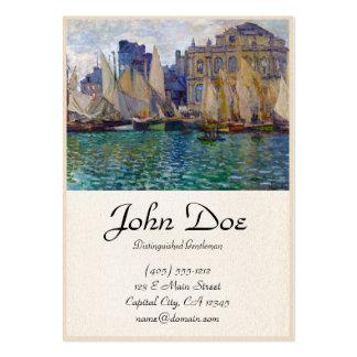 O museu Claude Monet de Havre Cartão De Visita Grande
