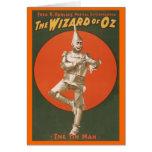 O Musical de mágico de Oz - homem da lata Cartões