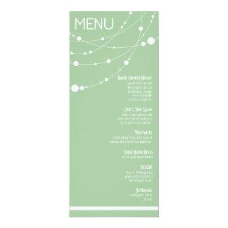 O na moda encalha a hortelã do menu | do casamento convite
