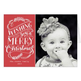 O Natal deseja a coleção Cartão De Nota