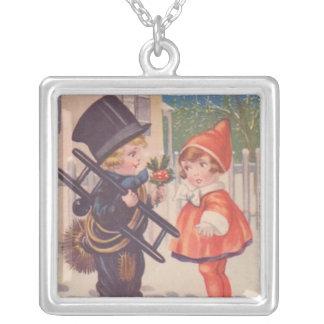 O Natal do Victorian do vintage caçoa a colar
