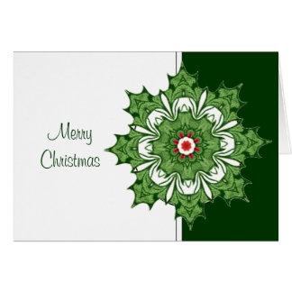 O Natal elegante aprecia nossa associação Cartão Comemorativo