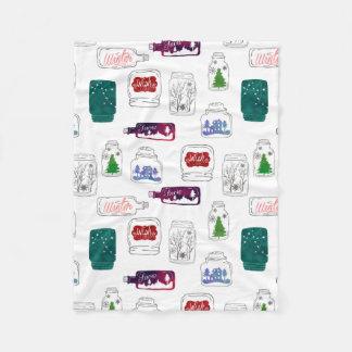 O Natal range a cobertura Cobertor De Lã