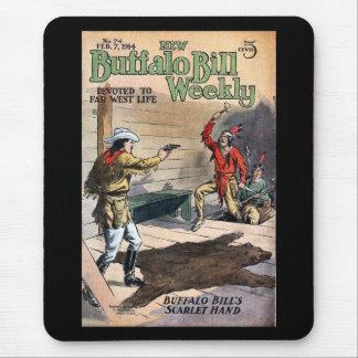 O no. semanal novo 74 1914 de Buffalo Bill Mousepad